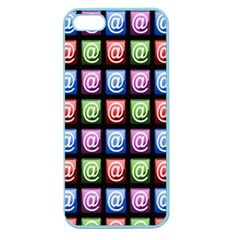 Email At Internet Computer Web Apple Seamless Iphone 5 Case (color)
