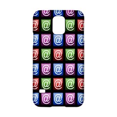 Email At Internet Computer Web Samsung Galaxy S5 Hardshell Case  by Nexatart