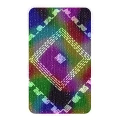 Embroidered Fabric Pattern Memory Card Reader by Nexatart