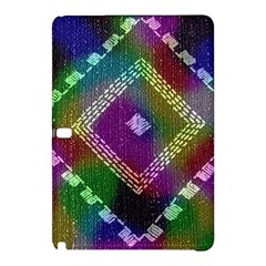 Embroidered Fabric Pattern Samsung Galaxy Tab Pro 12 2 Hardshell Case