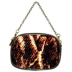 Fabric Yikes Texture Chain Purses (one Side)