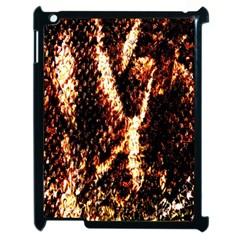 Fabric Yikes Texture Apple Ipad 2 Case (black) by Nexatart