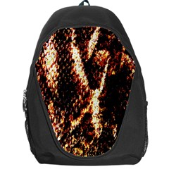 Fabric Yikes Texture Backpack Bag