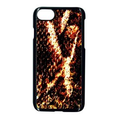 Fabric Yikes Texture Apple iPhone 7 Seamless Case (Black)