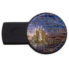 Dubai Usb Flash Drive Round (2 Gb)