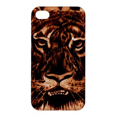 Eye Of The Tiger Apple Iphone 4/4s Hardshell Case