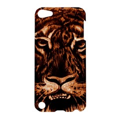 Eye Of The Tiger Apple Ipod Touch 5 Hardshell Case by Nexatart