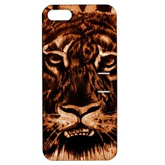 Eye Of The Tiger Apple Iphone 5 Hardshell Case With Stand