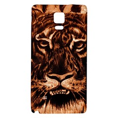 Eye Of The Tiger Galaxy Note 4 Back Case