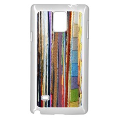 Fabric Samsung Galaxy Note 4 Case (white)