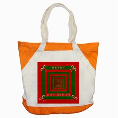 Fabric 3d Merry Christmas Accent Tote Bag by Nexatart