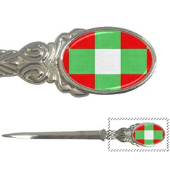 Fabric Christmas Colors Bright Letter Openers