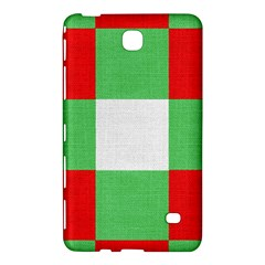 Fabric Christmas Colors Bright Samsung Galaxy Tab 4 (8 ) Hardshell Case  by Nexatart
