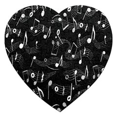 Fabric Cloth Textile Clothing Jigsaw Puzzle (heart)