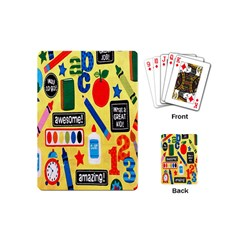 Fabric Cloth Textile Clothing Playing Cards (Mini)