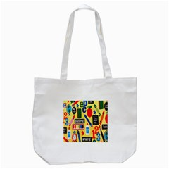Fabric Cloth Textile Clothing Tote Bag (white) by Nexatart