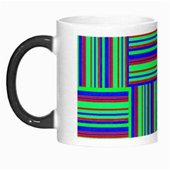 Fabric Pattern Design Cloth Stripe Morph Mugs