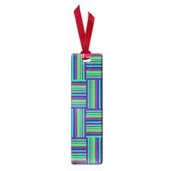 Fabric Pattern Design Cloth Stripe Small Book Marks by Nexatart