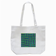 Fabric Pattern Design Cloth Stripe Tote Bag (white) by Nexatart