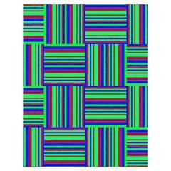 Fabric Pattern Design Cloth Stripe Drawstring Bag (large) by Nexatart