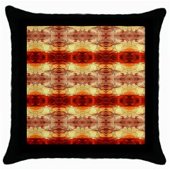 Fabric Design Pattern Color Throw Pillow Case (black) by Nexatart