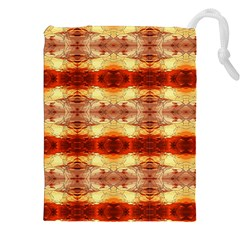 Fabric Design Pattern Color Drawstring Pouches (xxl) by Nexatart