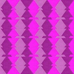 Fabric Textile Design Purple Pink Magic Photo Cubes by Nexatart
