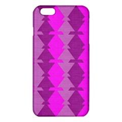 Fabric Textile Design Purple Pink Iphone 6 Plus/6s Plus Tpu Case by Nexatart