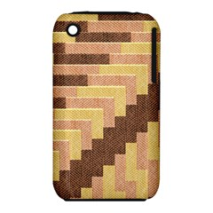 Fabric Textile Tiered Fashion Iphone 3s/3gs by Nexatart