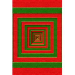 Fabric Texture 3d Geometric Vortex 5 5  X 8 5  Notebooks by Nexatart