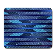 Fabric Texture Alternate Direction Large Mousepads