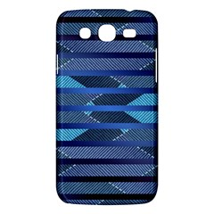 Fabric Texture Alternate Direction Samsung Galaxy Mega 5 8 I9152 Hardshell Case