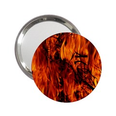 Fire Easter Easter Fire Flame 2 25  Handbag Mirrors by Nexatart