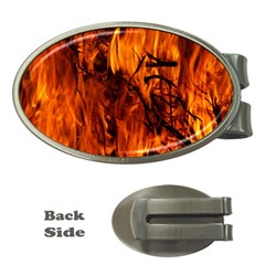 Fire Easter Easter Fire Flame Money Clips (oval)