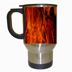 Fire Easter Easter Fire Flame Travel Mugs (white) by Nexatart