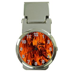 Fire Easter Easter Fire Flame Money Clip Watches by Nexatart