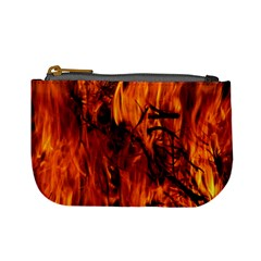 Fire Easter Easter Fire Flame Mini Coin Purses