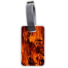 Fire Easter Easter Fire Flame Luggage Tags (one Side)