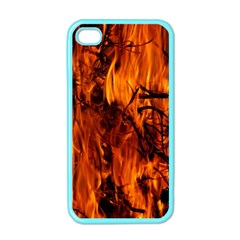 Fire Easter Easter Fire Flame Apple Iphone 4 Case (color)