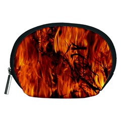Fire Easter Easter Fire Flame Accessory Pouches (medium)
