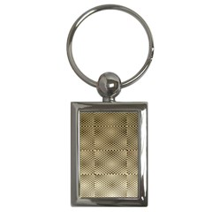 Fashion Style Glass Pattern Key Chains (rectangle)