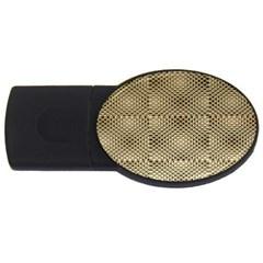 Fashion Style Glass Pattern Usb Flash Drive Oval (2 Gb)