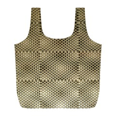 Fashion Style Glass Pattern Full Print Recycle Bags (l)  by Nexatart