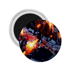 Fire Embers Flame Heat Flames Hot 2 25  Magnets