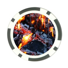 Fire Embers Flame Heat Flames Hot Poker Chip Card Guard