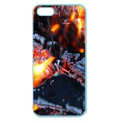 Fire Embers Flame Heat Flames Hot Apple Seamless Iphone 5 Case (color)