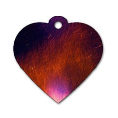 Fire Radio Spark Fire Geiss Dog Tag Heart (one Side)