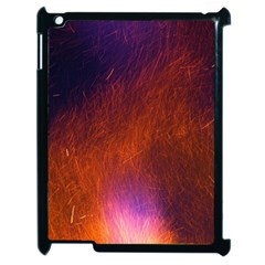 Fire Radio Spark Fire Geiss Apple Ipad 2 Case (black) by Nexatart