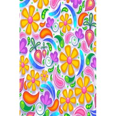 Floral Paisley Background Flower 5 5  X 8 5  Notebooks by Nexatart