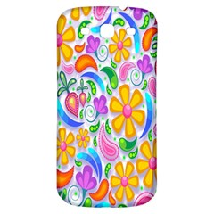 Floral Paisley Background Flower Samsung Galaxy S3 S Iii Classic Hardshell Back Case by Nexatart